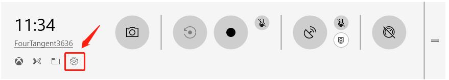 clique em Configurações