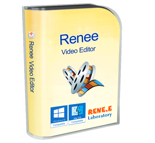 imagem de renee video editor mac