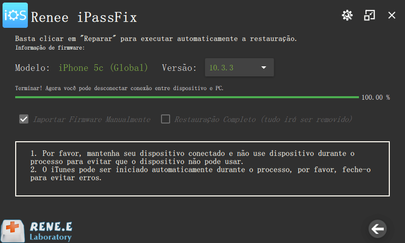 reparando dispositivo